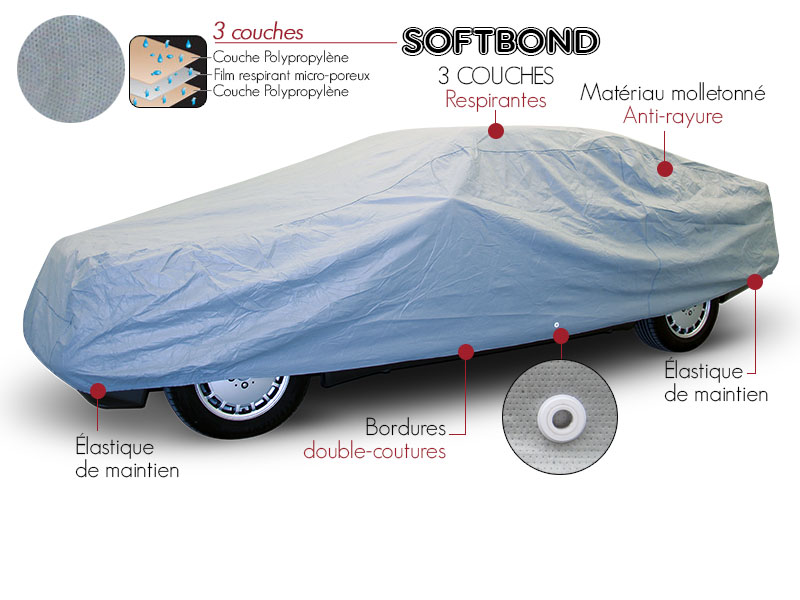 housse protection coupé Softbond